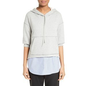 3.1 Phillip Lim Large Hoodie With Shirt
